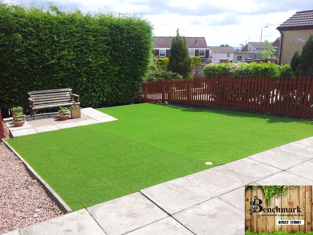 Artificial grass installation maidstone synthetic lawn for Garden decking maidstone