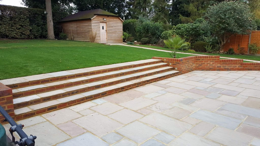 landscaping-with-patio-steps-and-lawn-west-kent